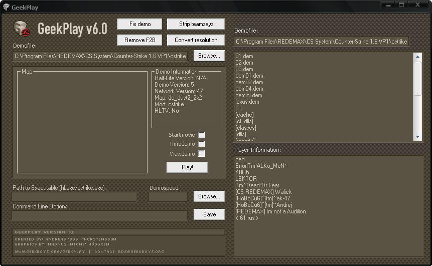 Программа для Counter-Strike CS 1.6 (КС),Программа позволяет